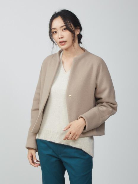 【新色入荷】ショートビーバーコート