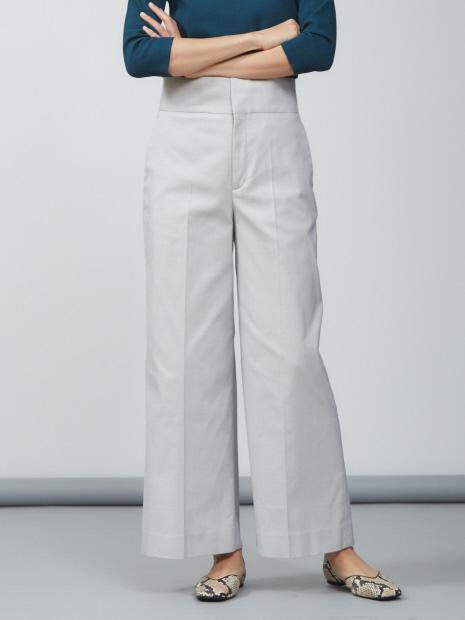 【GOOD LUCK PANTS】【昨年大ヒット】ハイウエストワイドパンツ