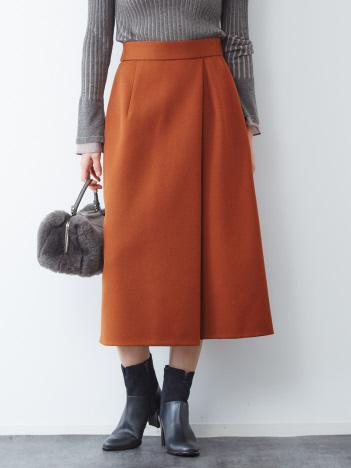 qualite - Yangany フェイクウールスカーチョ