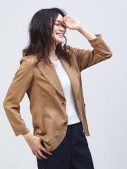 qualite - オーガンジーシャツジャケット【予約】