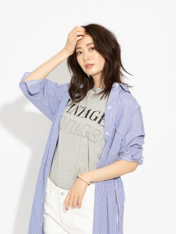 qualite - 【MARGAUX】VINTAGE ロゴTシャツ