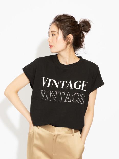 【MARGAUX】VINTAGE ロゴTシャツ