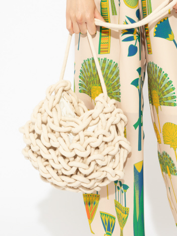 qualite - 【alienina】Nadia bag Solid ショルダーバッグ