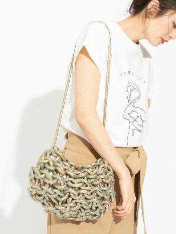 OUTLET (Ladie's) - 【alienina】Nadia bag Glitter ショルダーバッグ