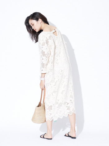 【限定】Yanganyクラフトロングドレス