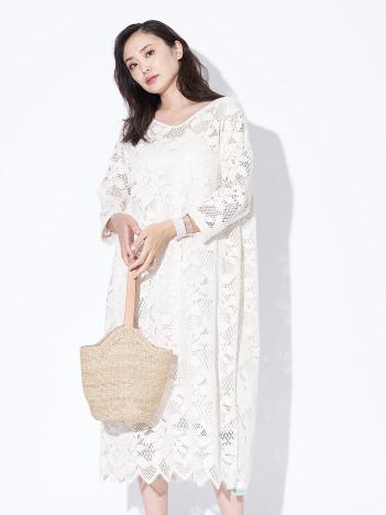 qualite - 【限定】Yanganyクラフトロングドレス