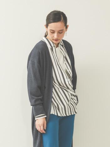 【2WAYデザイン】カシュクールシャツ
