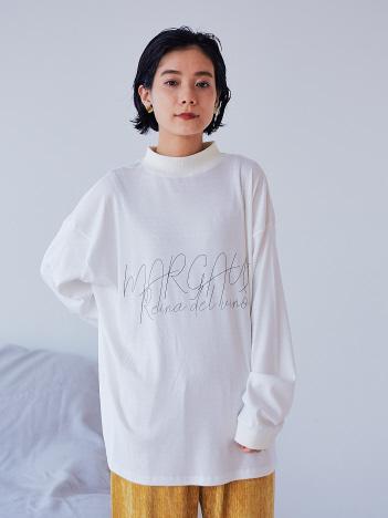 【MARGAUX】【WEB限定】リブロゴロンT