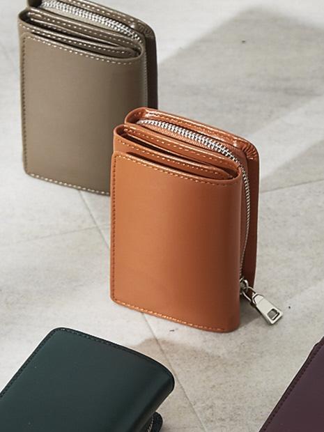 【YAHKI】三つ折ミニ財布