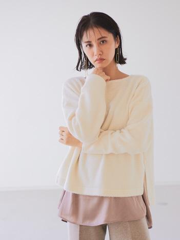 qualite - 【一部店舗・WEB限定】シャギープルオーバーノースリセット【予約】