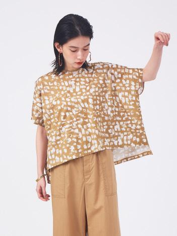 qualite - グラデーションペイントTシャツ【予約】
