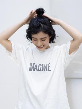 【REMI RELIEF】IMAGINE Tシャツ
