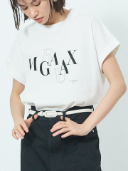 【MARGAUX×scape】【WEB・一部店舗限定】MARGAUXロゴ別注Tシャツ