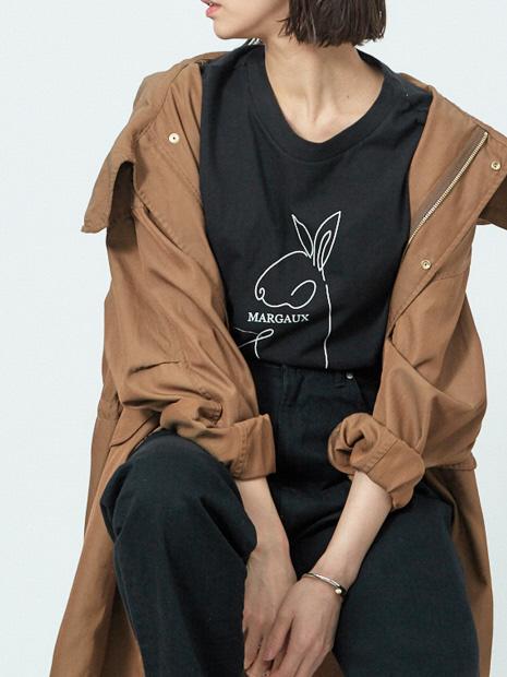 【MARGAUX×scape】【WEB・一部店舗限定】USAGI別注Tシャツ