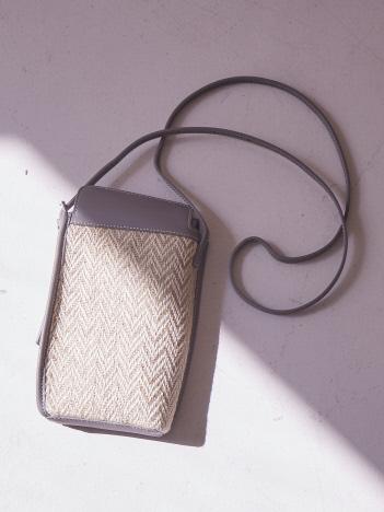 qualite - 【the delittante】SHOULDER BAG(ジュート)
