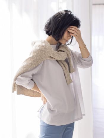 qualite - 【WEB・一部店舗限定】シアーロングTシャツ