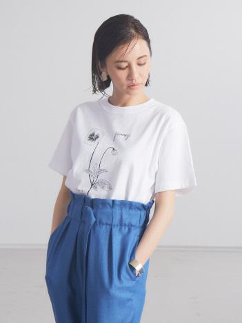 qualite - 【WEB・一部店舗限定】0501PansyTシャツ