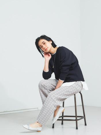 【WEB・一部店舗限定】ドルマンニットプルオーバー