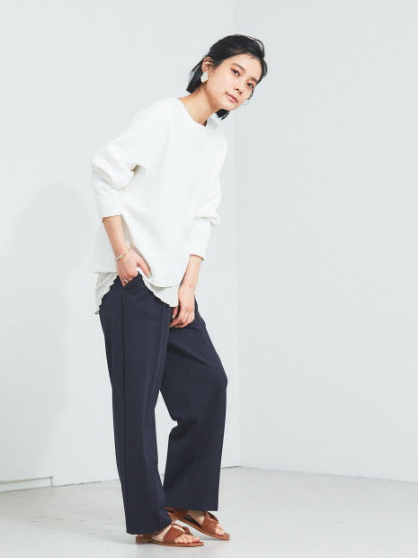 【WEB限定】カットワイドイージーパンツ