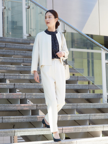 【セットアップ対応】ダブルクロスクロプドシャツジャケット