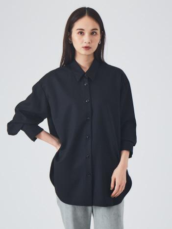 qualite - ウールツイルシャツ◇セットアップ対応【予約】