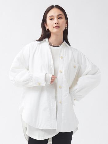 qualite - 中綿シャツジャケット