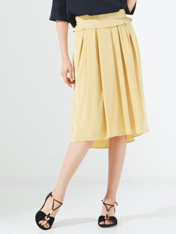 DESIGNWORKS (Ladie's) - クレープデシンギャザースカート