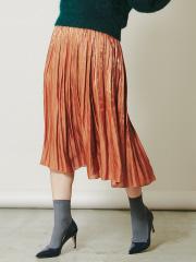 DESIGNWORKS (Ladie's) - ブライトオーガンジーサテンスカート