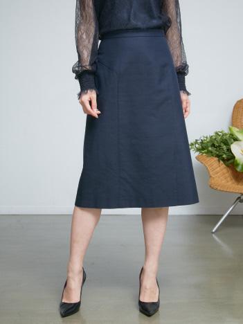 DESIGNWORKS (Ladie's) - バックサテンシャンタンタイトスカート