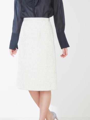 OUTLET (Ladie's) - ラメツイードツイードスカート