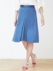 DESIGNWORKS (Ladie's) - センタープリーツAラインスカート