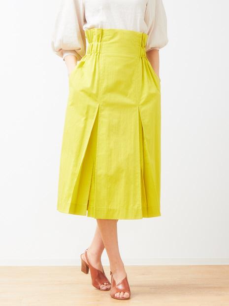 キャバジンカラースカート