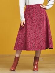 DESIGNWORKS (Ladie's) - 小花ジャガードスカート
