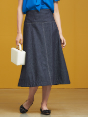 DESIGNWORKS (Ladie's) - デニムフレアスカート