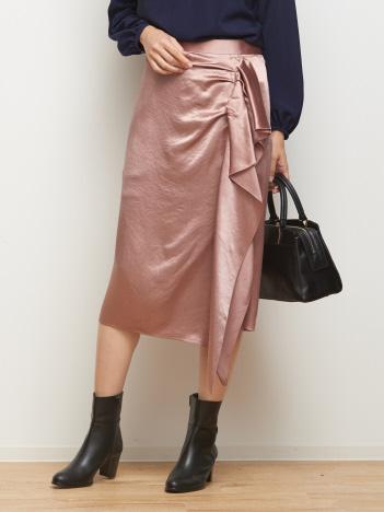 DESIGNWORKS (Ladie's) - ヴィンテージサテンスカート