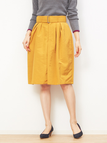 ナイロングログランスカート
