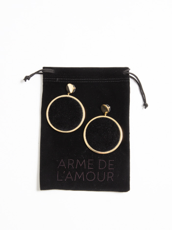 OUTLET (Ladie's) - ARME DE L'AMOUR ベルベットピアス