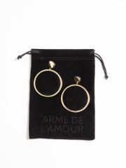 DESIGNWORKS (Ladie's) - ARME DE L'AMOUR ベルベットピアス