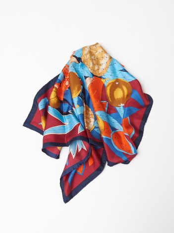 manipuri  tropical Silk Scarf s