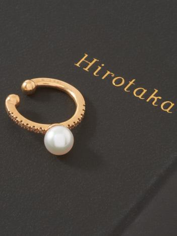 DESIGNWORKS (Ladie's) - Hirotaka Akoya Pearl Diamond イヤーカフ