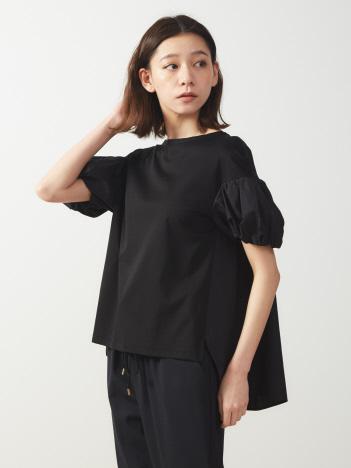 ボリューム半袖プルオーバーTシャツ