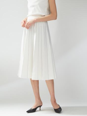 ミラノリブプリーツスカート