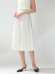 DESIGNWORKS (Ladie's) - ミラノリブプリーツスカート