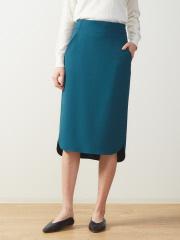 DESIGNWORKS (Ladie's) - サイドスリットタイトスカート