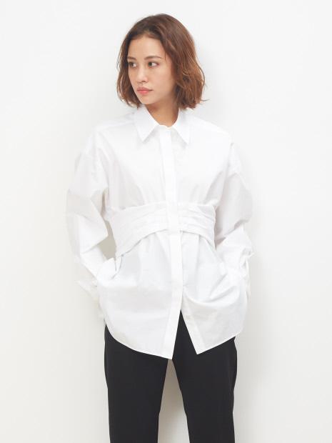 ベルト付きシャツ(LOVE SHRIT )