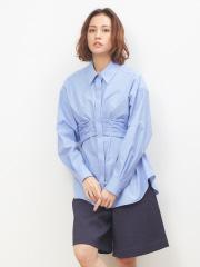 DESIGNWORKS (Ladie's) - ベルト付きシャツ(LOVE SHRIT )【予約】