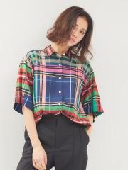 DESIGNWORKS (Ladie's) - マルチチェックBIGシャツ