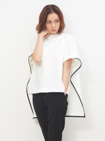 DESIGNWORKS (Ladie's) - ポンチプルオーバー バックケープTシャツ