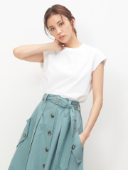 DESIGNWORKS (Ladie's) - 天竺ノースリーブTシャツ【予約】