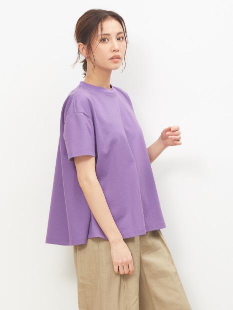 天竺半袖プルオーバーTシャツ